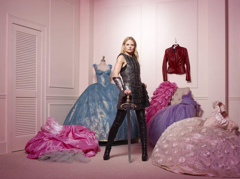 La guerrière aime les robes bonbons de princesses.