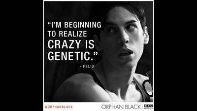Je commence à prendre conscience de la folie de génétique