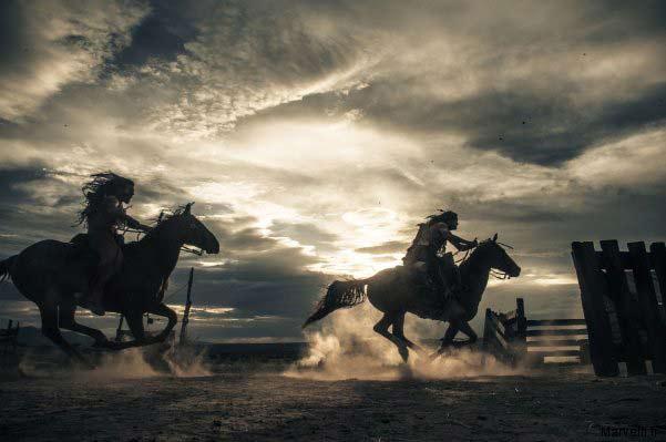 l'Ouest mythique lone ranger