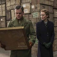 Monuments-Men-matt-damon-cate-blanchett