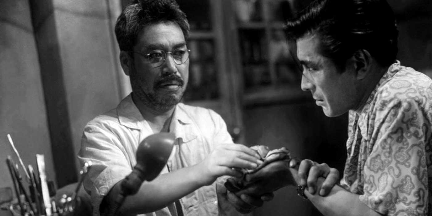 ange-ivre-akira-kurosawa-toshiro-mifune-takashi-shimura-critique-dvd
