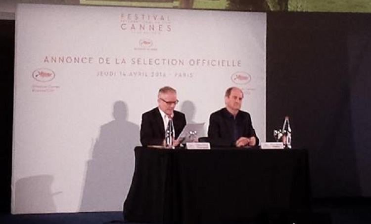 cannes-2016-l-annonce-de-la-selection-officielle-Pierre Lescure-et-Thierry Fremaux