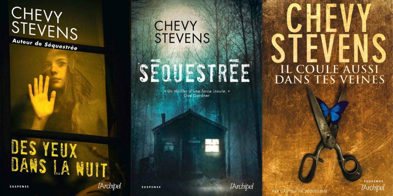 Polar-Des-yeux-dans-la-nuit-Il-coule-aussi-dans-tes-veines-Sequestree-analyse-litteraire-romans-Chevy-Stevens