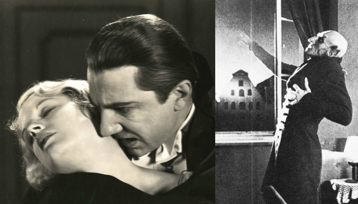 films-vampires-Nosferatu-acteur-Max-Schreck-Dracula-Bela-Lugosi-evolutions-difference