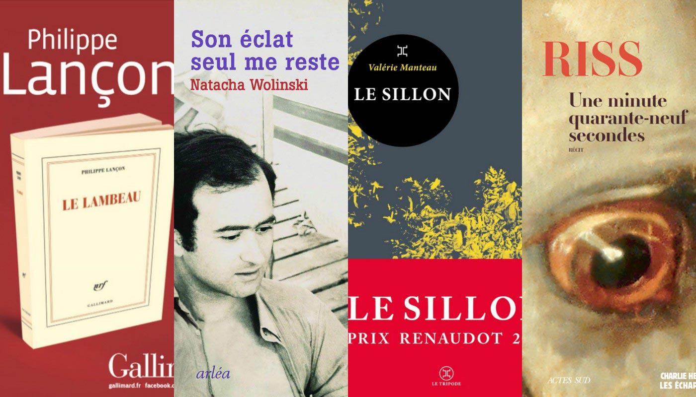 livres-attentats-charliehebdo-Une-minute-quarante-neuf-secondes-Le-Sillon-de-Valerie-Manteau-Le-lambeau-de-Philippe-Lancon-