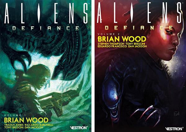 aliens-defiance-brian-wood-tomes-volumes-1-et-2-visuel-cover-vestron-edition-editeur