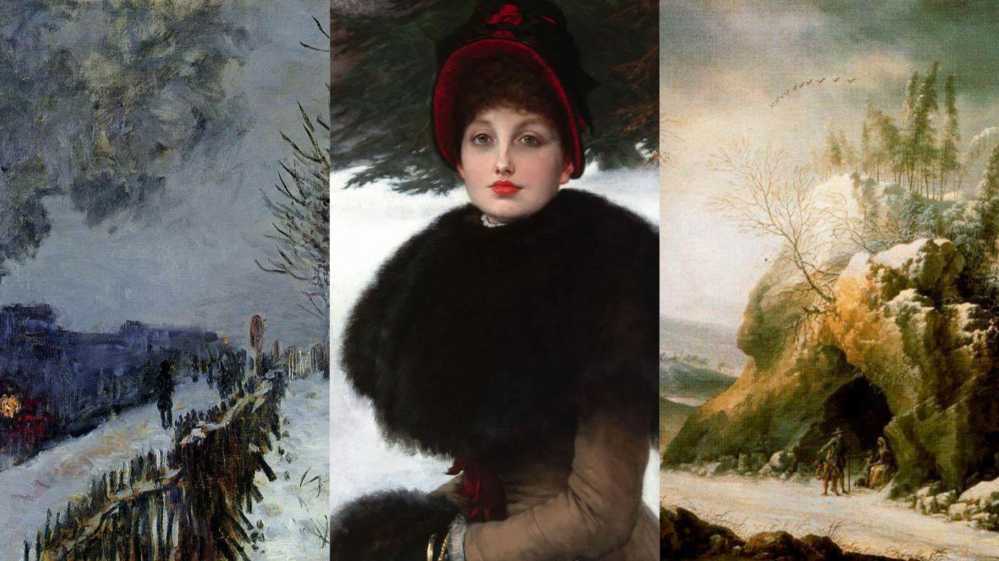 Francesco-foschi-James-Tissot-claude-monet-peinture-neige