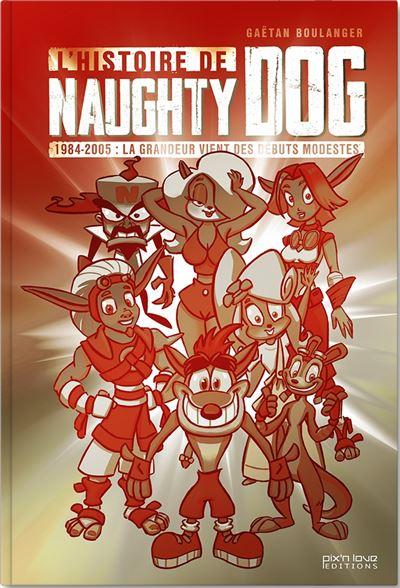 L-histoire-de-Naughty-Dog-critique-livre