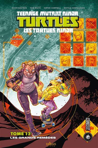 Les-Tortues-Ninja-TMNT-T13-Les-Grands-Remedes-critique-livre