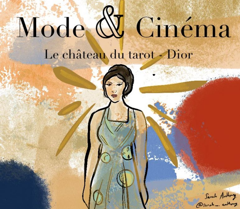 Critique-illustration-lechateaudutarot-dior-magducine-sarah-anthony